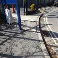 Chemistry Teaching Lab - Parking - (3 of 3) - Narrow section of pavement