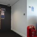 Chemistry Teaching Lab - Teaching Labs - (6 of 11) - Ground floor door to lab corridor