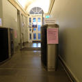 Philosophy and Theology Faculties Library - Doors - (1 of 4) - Secure glass gates
