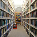 Philosophy and Theology Faculties Library - Reading rooms - (1 of 6) - Ground floor shelving