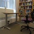 Philosophy and Theology Faculties Library - Reading rooms - (6 of 6) - First floor height adjustable desk