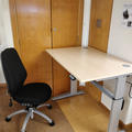 English Faculty Library - Assistive equipment  - (1 of 2) - Electric height adjustable desk