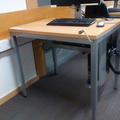 English Faculty Library - Assistive equipment  - (2 of 2) - Manual height adjustable desk