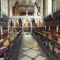 Exeter - Chapel - (6 of 6) - Aisle from Altar