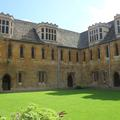 Merton College - Mob Quad - (1 of 1)