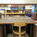 Weston Library - Assistive equipment  - (1 of 1) - Height adjustable desk