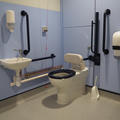 Zoology Research and Admin Building - Accessible toilets - (2 of 2)