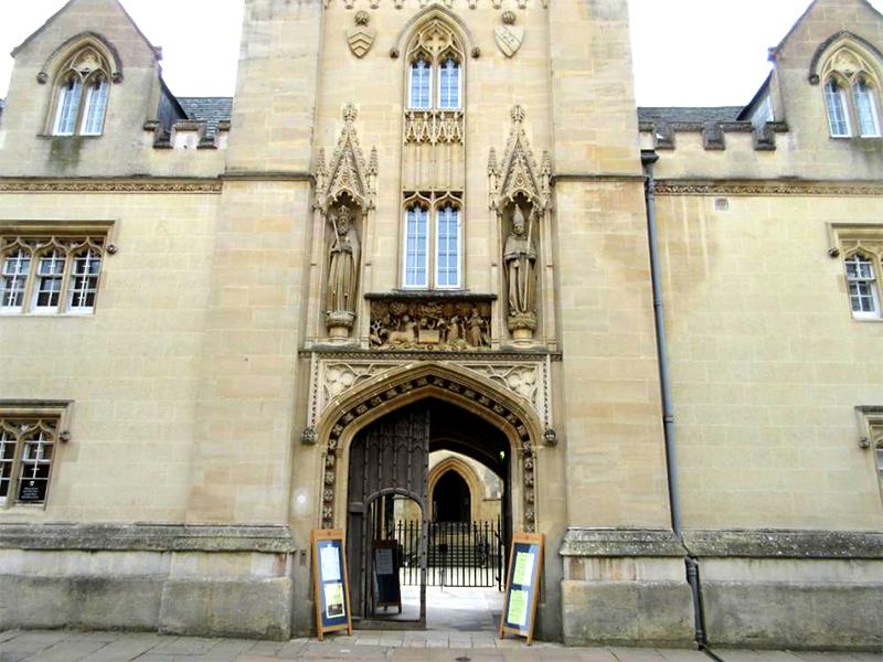 Merton College - (1 of 1)